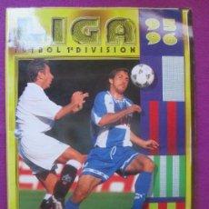 Coleccionismo deportivo: ALBUM CROMOS FUTBOL LIGA 95-96, 1995-1996, DEPORTE, ESTE, TIENE 473 Y 35 FICHAJES,. Lote 102806055