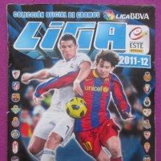Coleccionismo deportivo: ALBUM CROMOS FUTBOL, 2011-2012, DEPORTE, ESTE, TIENE 418 CROMOS, 8 FICHAJES, A. Lote 102949155