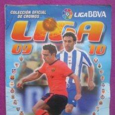 Coleccionismo deportivo: ALBUM CROMOS FUTBOL, 2009-2010, 09-10, DEPORTE, ESTE, TIENE 358 CROMOS, 10 FICHAJES. Lote 102951307
