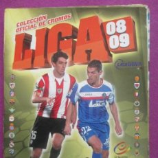 Coleccionismo deportivo: ALBUM CROMOS FUTBOL, 2008-2009, DEPORTE, ESTE, TIENE 314 CROMOS, 21 FICHAJES. Lote 102959563