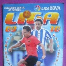 Coleccionismo deportivo: ALBUM CROMOS FUTBOL, 2009-2010, DEPORTE, ESTE, TIENE 411 CROMOS, 13 FICHAJES, A. Lote 102985023