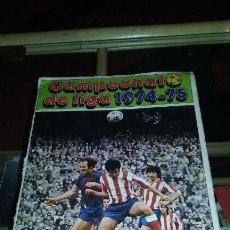 Coleccionismo deportivo: ALBUM FHER 1975-76. FALTA HOJA DEL REAL MADRID Y 13 ULTIMOS FICHAJES. BUEN ESTADO. Lote 103231191