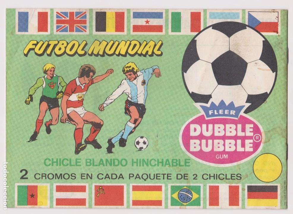 Coleccionismo deportivo: ALBUM VACIO FÚTBOL MUNDIAL 1982. - Foto 2 - 103249459