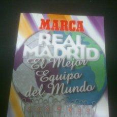 Coleccionismo deportivo: FUTBOL REAL MADRID EL MEJOR EQUIPO DEL MUNDO.LOS 20 PARTIDOS DE LA LEYENDA BLANCA. Lote 103286715