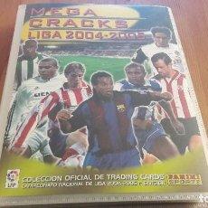 Coleccionismo deportivo: ALBUM MEGACRACKS 04 05 CON 403 FICHAS NUEVAS. Lote 103342051