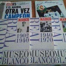 Coleccionismo deportivo: LOTE 5 ALBUM REAL MADRID OFICIAL AS MARCA . Lote 103405627