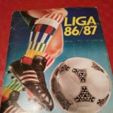 Coleccionismo deportivo: ALBUM FUTBOL LIGA ESTE 86 87 CON 318 CROMOS!!!. Lote 103423807