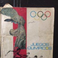 Coleccionismo deportivo: ÁLBUM LOS JUEGOS OLÍMPICOS. DIFUSORA DE CULTURA. Lote 103572162