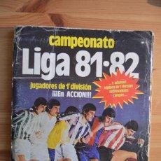 Coleccionismo deportivo: ALBUM ESTE 81-82. Lote 103660519