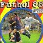 ALBUM DE CROMOS FUTBOL 88 DE PANINI - 349 CROMOS PEGADOS, FALTAN 37
