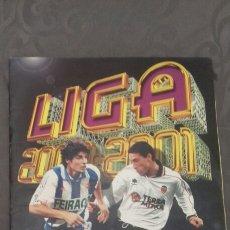 Coleccionismo deportivo: ALBUM CROMOS FUTBOL LIGA 2000/01. Lote 103665480
