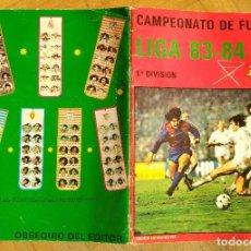 Coleccionismo deportivo: ALBUM CAMPEONATO DE FUTBOL LIGA 83-84 1983 1984 J. MERCHANTE. Lote 103745415