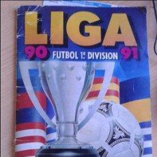 Coleccionismo deportivo: EDICIONES ESTE 1990-91 CONTIENE 145 CROMOS VER COMENTARIO INTERIOR. Lote 103834015