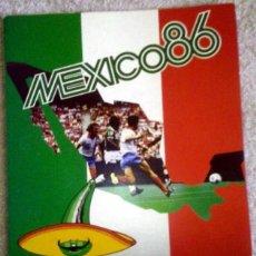 Coleccionismo deportivo: ALBUM MUNDIAL MEXICO 86 DE COCA-COLA. SIN CROMOS. BUEN ESTADO.. Lote 103847951