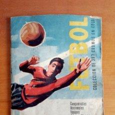 Coleccionismo deportivo: ÁLBUM CROMOS FÚTBOL CAMPEONATOS NACIONALES PRIMERA DIVISIÓN 1960 COPA EUROP RUIZ ROMERO - 245 DE 397. Lote 103870991