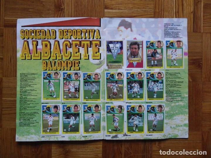 Coleccionismo deportivo: ÁLBUM LIGA 93-94 - Foto 3 - 104062355