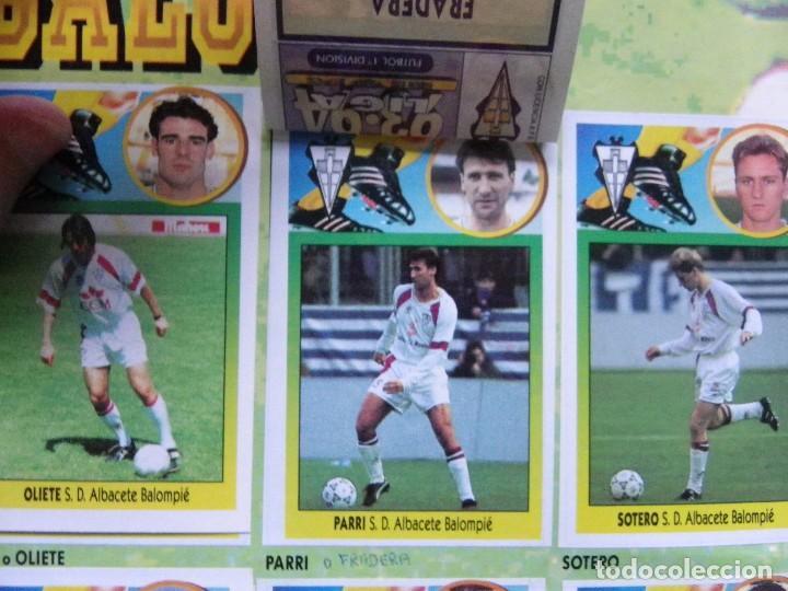 Coleccionismo deportivo: ÁLBUM LIGA 93-94 - Foto 4 - 104062355