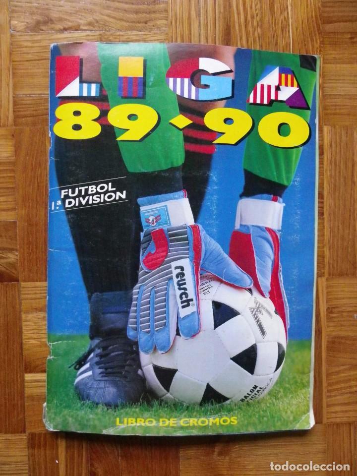 ÁLBUM LIGA 89-90, EDICIONES ESTE (Coleccionismo Deportivo - Álbumes y Cromos de Deportes - Álbumes de Fútbol Incompletos)