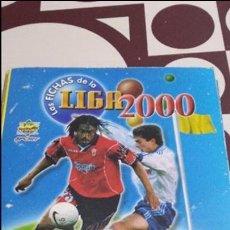 Coleccionismo deportivo: LAS FICHAS DE LA LIGA 2000. MUNDICROMO SPORT. MC. CROMOS. FUTBOL. TRADING CARS. Lote 104682119