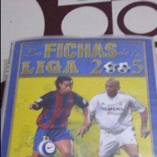 Coleccionismo deportivo: LAS FICHAS DE LA LIGA 2005. MUNDICROMO SPORT. MC. CROMOS. FUTBOL. TRADING CARS. Lote 104692311