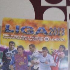 Coleccionismo deportivo: LIGA 2013. OFFICIAL QUIZ GAME COLLECTION MUNDICROMO SPORT. MC. CROMOS. FUTBOL. TRADING CARS. Lote 104692719