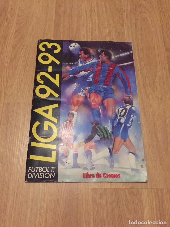 LOTE ALBUM DE CROMOS VACIO LIGA TEMPORADA 1992 1993 92 93 ESTE (Coleccionismo Deportivo - Álbumes y Cromos de Deportes - Álbumes de Fútbol Incompletos)