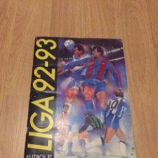 Coleccionismo deportivo: LOTE ALBUM DE CROMOS VACIO LIGA TEMPORADA 1992 1993 92 93 ESTE. Lote 104731187