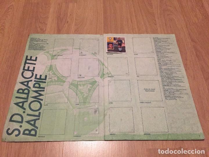 Coleccionismo deportivo: LOTE ALBUM DE CROMOS VACIO LIGA TEMPORADA 1992 1993 92 93 ESTE - Foto 3 - 104731187