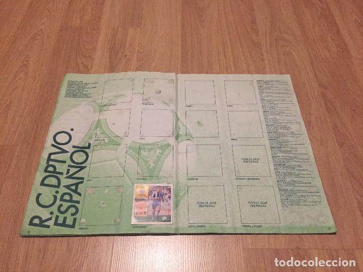 Coleccionismo deportivo: LOTE ALBUM DE CROMOS VACIO LIGA TEMPORADA 1992 1993 92 93 ESTE - Foto 10 - 104731187