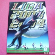 Coleccionismo deportivo: ALBUM ED.ESTE 2003-2004 PLANCHA ( VACIO ). Lote 104735427