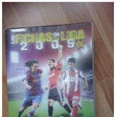 Coleccionismo deportivo: ALBUM DE CROMOS FUTBOL TEMPORADA 2008/2009. Lote 104827319