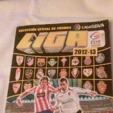Coleccionismo deportivo: ALBUM FUTBOL LIGA 2012-13 COLECCIONES ESTE(INCOMPLETO).. Lote 105608239