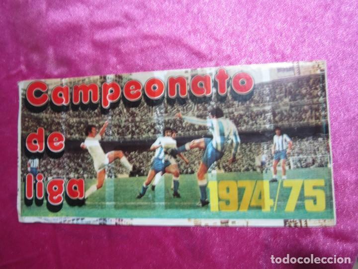 ALBUM FUTBOL LIGA . 1974 75 . PIPAS GRAELL. IN COMPLETO A FALTA DE 3 (Coleccionismo Deportivo - Álbumes y Cromos de Deportes - Álbumes de Fútbol Incompletos)