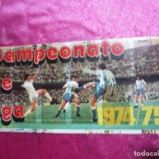 Coleccionismo deportivo: ALBUM FUTBOL LIGA . 1974 75 . PIPAS GRAELL. IN COMPLETO A FALTA DE 3. Lote 105630703