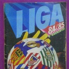 Coleccionismo deportivo: ALBUM CROMOS FUTBOL, DEPORTE, LIGA ESTE 84/85, TIENE 267 CROMOS, 10 FICHAJES,. Lote 113697470