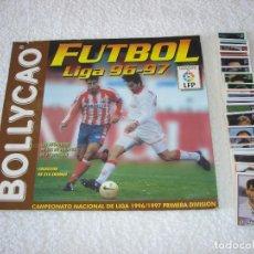 Coleccionismo deportivo: ALBUM FUTBOL LIGA 96-97 + LOTE DE CROMOS SIN PEGAR - BOLLYCAO 1996-1997. Lote 105942735
