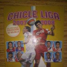 Coleccionismo deportivo: CHICLE LIGA 07/08 PANINI - ÁLBUM VACÍO NUEVO. Lote 106029499