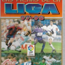 Coleccionismo deportivo: ALBUM DE LAS FICHAS DE LA LIGA 97/98 CON 500 FICHAS. Lote 172701843