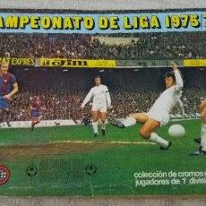 Coleccionismo deportivo: 75/76 ESTE ALBUM BASTANTE COMPLETO. MUY IMPORTANTE LEER DESCRIPCIÓN.. Lote 95688423