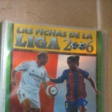 Coleccionismo deportivo: ALBUM LAS FICHAS DE LA LIGA 2006 MUNDICROMO. Lote 107021144