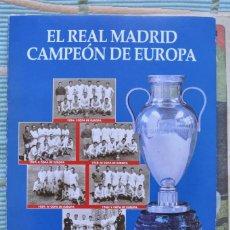 Coleccionismo deportivo: COLECCIONABLE ABC REAL MADRID CAMPEON DE EUROPA. 36 FASCICULOS ( FALTA EL 14 ).. Lote 107206031