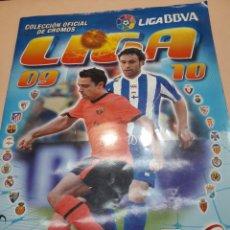 Coleccionismo deportivo: ÁLBUM CROMOS LIGA 2009-2010 COLECCIONES ESTE. Lote 107324903
