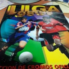 Coleccionismo deportivo: ESTE 98/99 EN MUY BUEN ESTADO CON MUCHOS FICHAJES Y 104 DOBLES. Lote 107684395
