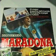 Coleccionismo deportivo: ALBUM FUTBOL CROMOS MARADONA VACIO. Lote 107768711