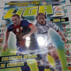 Coleccionismo deportivo: ÁLBUM CROMOS LIGA 13-14 COLECCIONES ESTE. Lote 107773028
