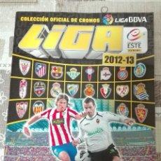 Coleccionismo deportivo: ÁLBUM OFICIAL DE CROMOS LIGA 2012-2013 COLECCIONES ESTE.. Lote 108102615