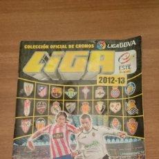 Coleccionismo deportivo: ALBUM INCOMPLETO LIGA 2012-13--CONTIENE55 CROMOS. Lote 108679903