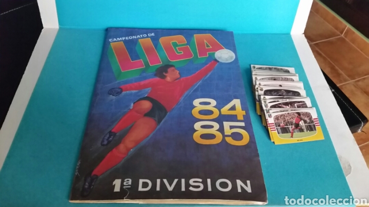 ÁLBUM LIGA 84 85 CROMOS CANO CON MUCHOS FICHAJES. LEER (Coleccionismo Deportivo - Álbumes y Cromos de Deportes - Álbumes de Fútbol Incompletos)