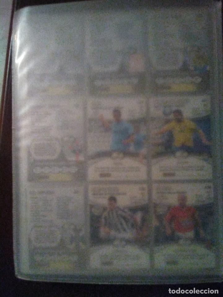 Coleccionismo deportivo: Album Mega Cracks 2007 2008, Panini, con 340 cartas-trading cards-cromos (ligeros desperfectos lomo - Foto 2 - 109046883
