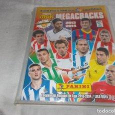 Coleccionismo deportivo: MEGA CRACKS 2013-2014 ÁLBUM INCOMPLETO CON 391CROMOS. Lote 109070311